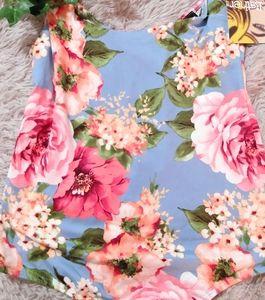NWT Polly & Esther Floral Bodysuit